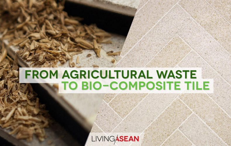 From Rice Husk to Bio-composite Tile and Solid Surface
