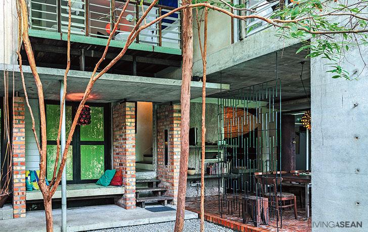 Nature Meets Concrete House