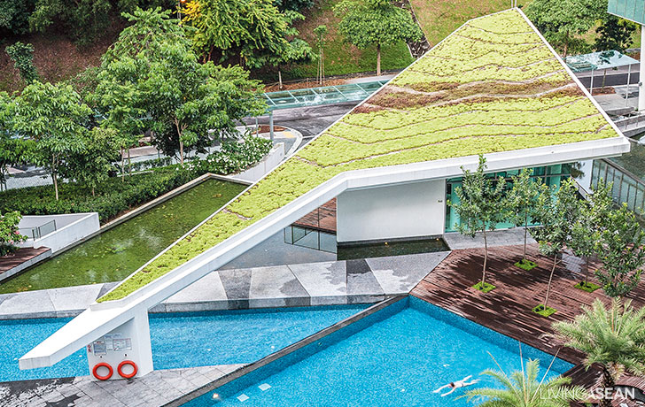 Property – One North Residence / Urban Greenery in Singapore