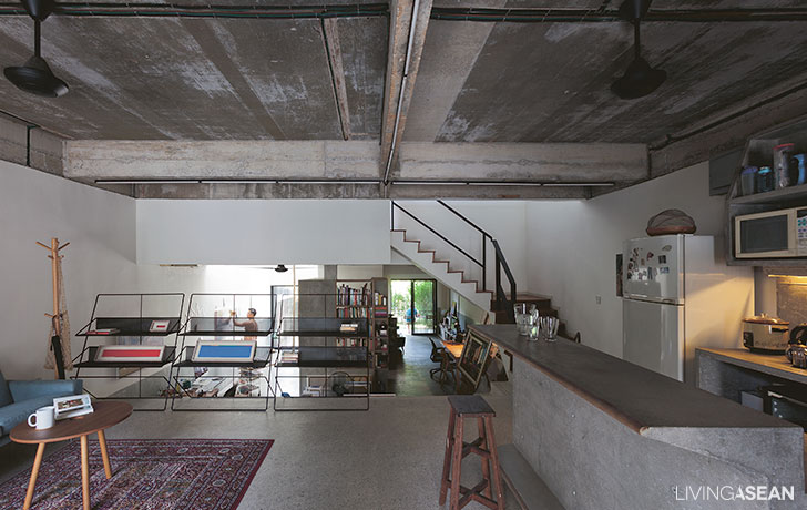 Home Renovation / The Artist House in Kuala Lumpur