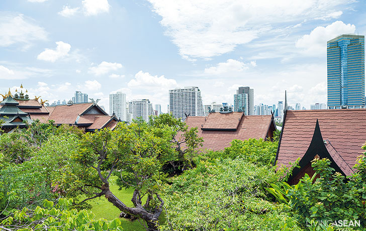 Rooftop Oasis in the Heart of Bangkok