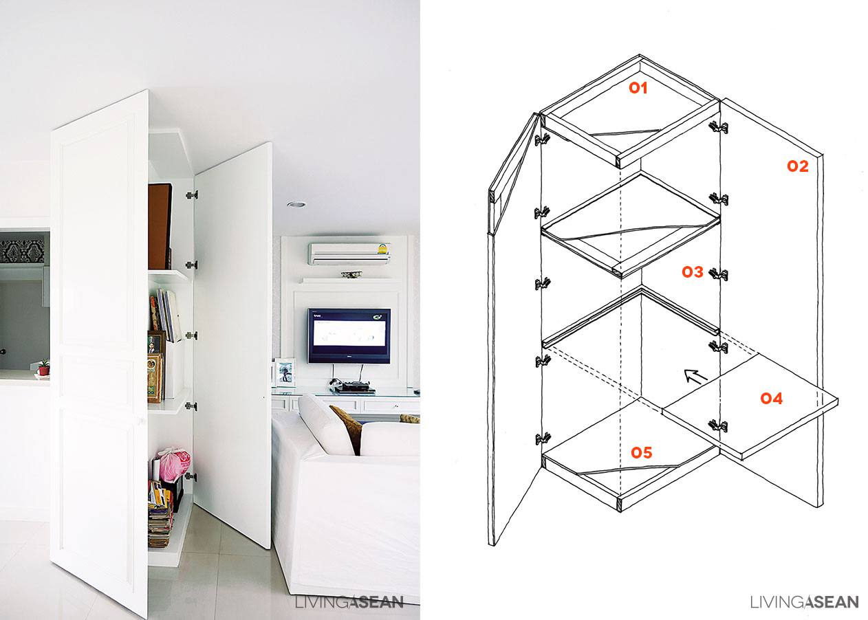Smart Storage Ideas // Small Space Solutions