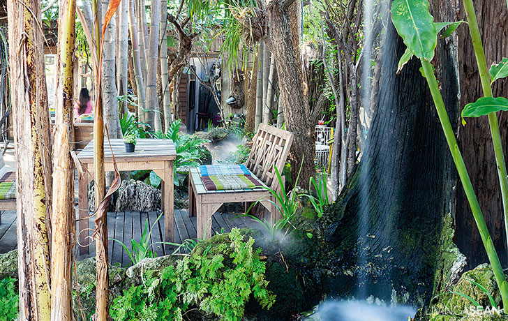 Baan Nai Suan / Tropical Garden in the Coffee Shop