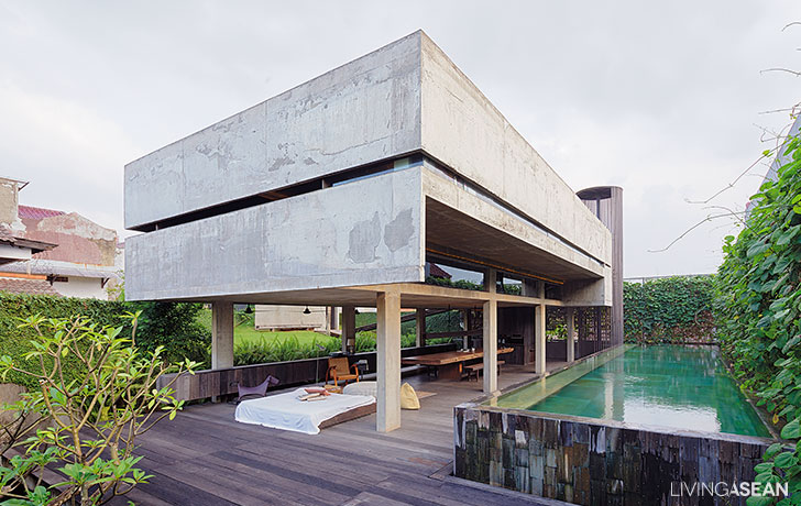 Modern Tropical Home in Indonesia