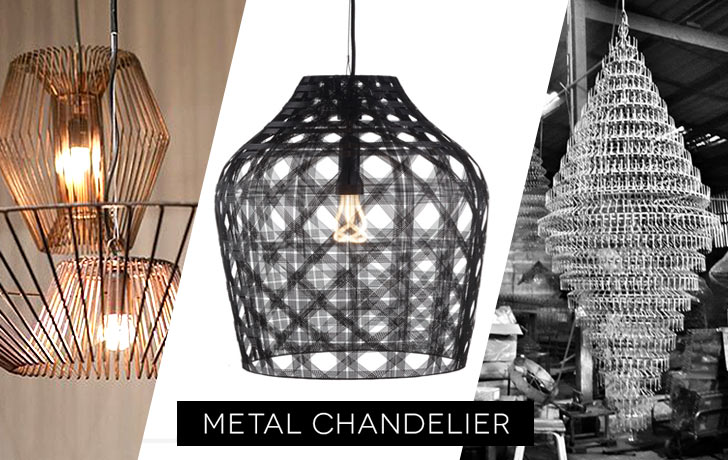 Metal chandelier designs from the ingenuity of asean designers mozeypictures Gallery