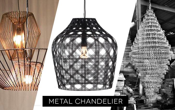 Metal Chandelier Designs from The Ingenuity of ASEAN Designers
