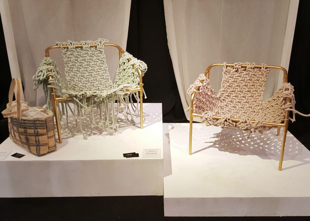 Fashion modern chairs in mock-up settings by Budij Layug