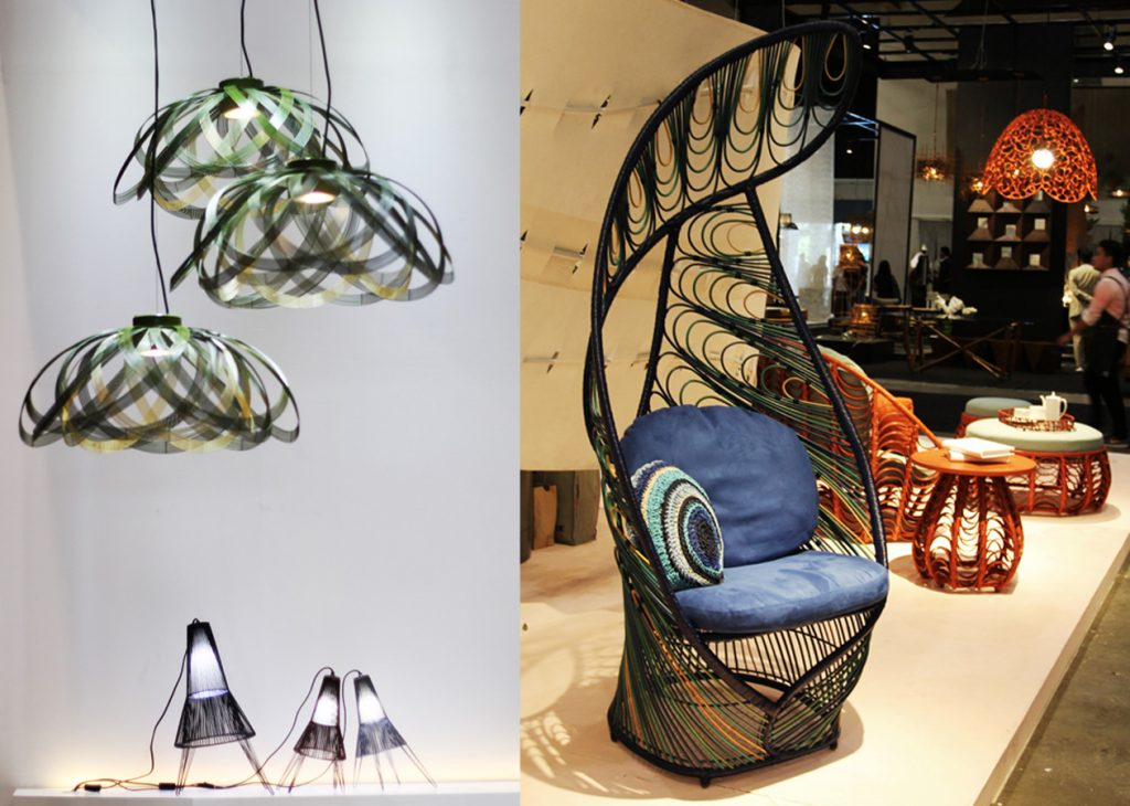 A Schema lamp exhibition /A new collection by Kenneth Cobonpue