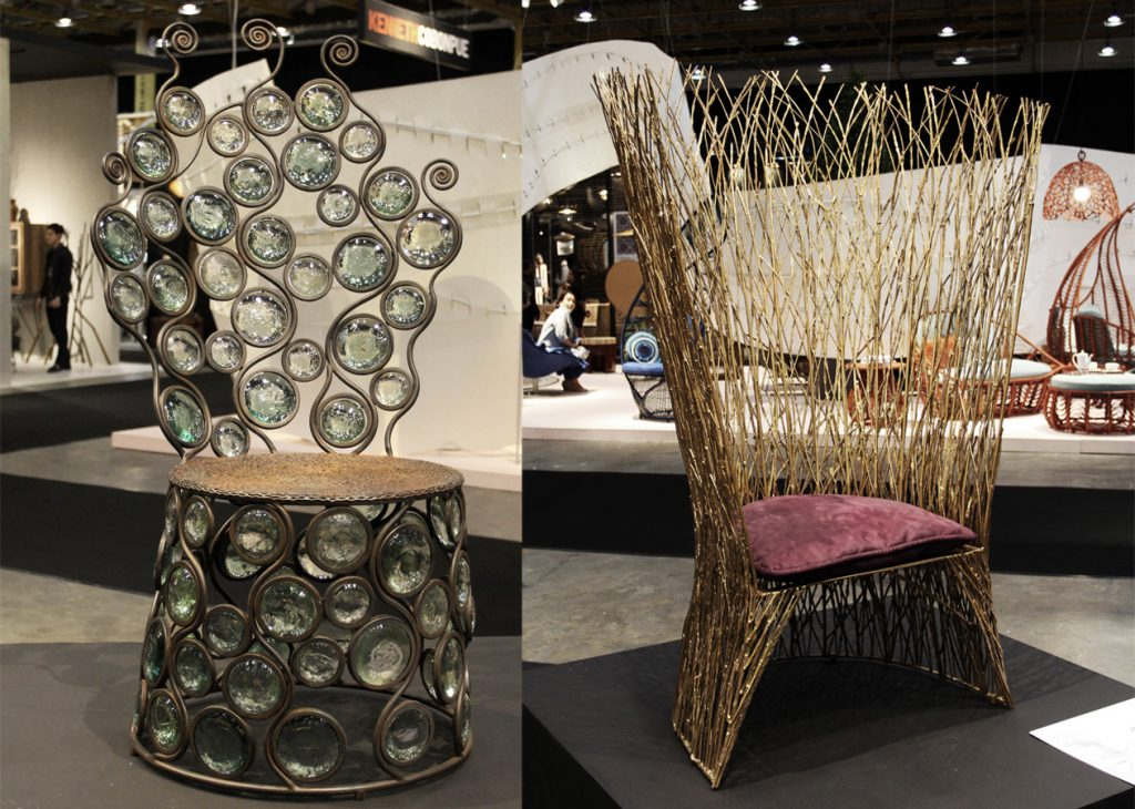 The Peacock Chair Redux exhibition