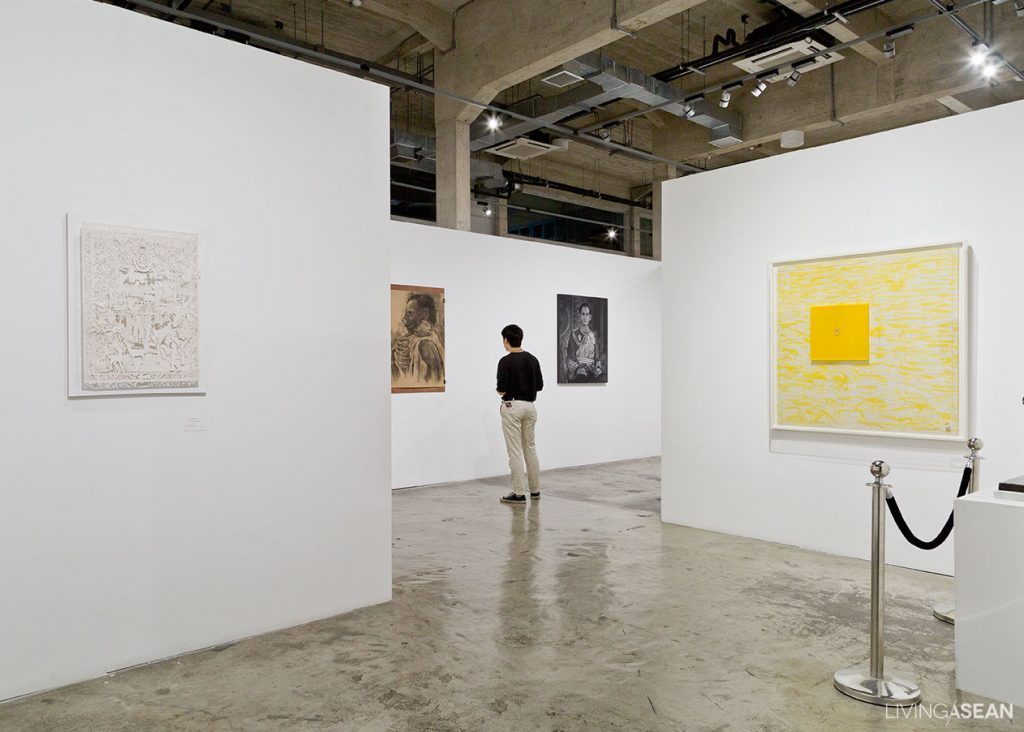 In Remembrance of His Majesty, King Bhumibol Adulyadej Art Exhibition