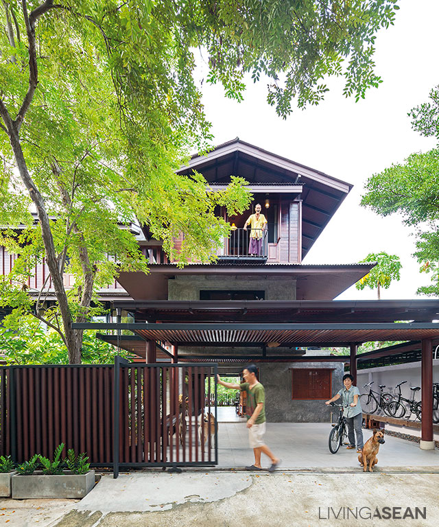 10 inspiring modern tropical houses in southeast asia for Modern thai house design