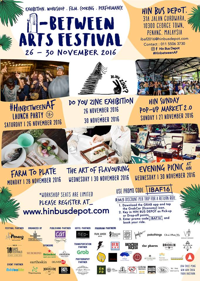 The In Between Arts Festival 2016