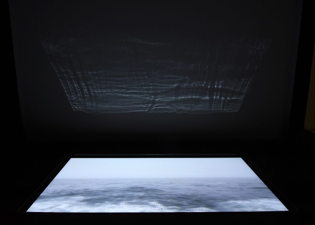This spectacular light and sound installation work draws the relationship between humans and the sea. – Endless Hours at Sea by Martha Athienza (The Philippines)