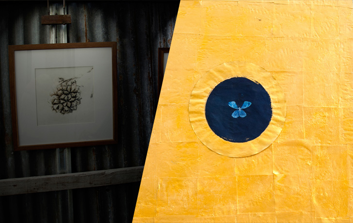 """""""Silver Fermentation"""" and """"Glided Blue"""":  Dual Art Exhibitions by Landry Dunand"""