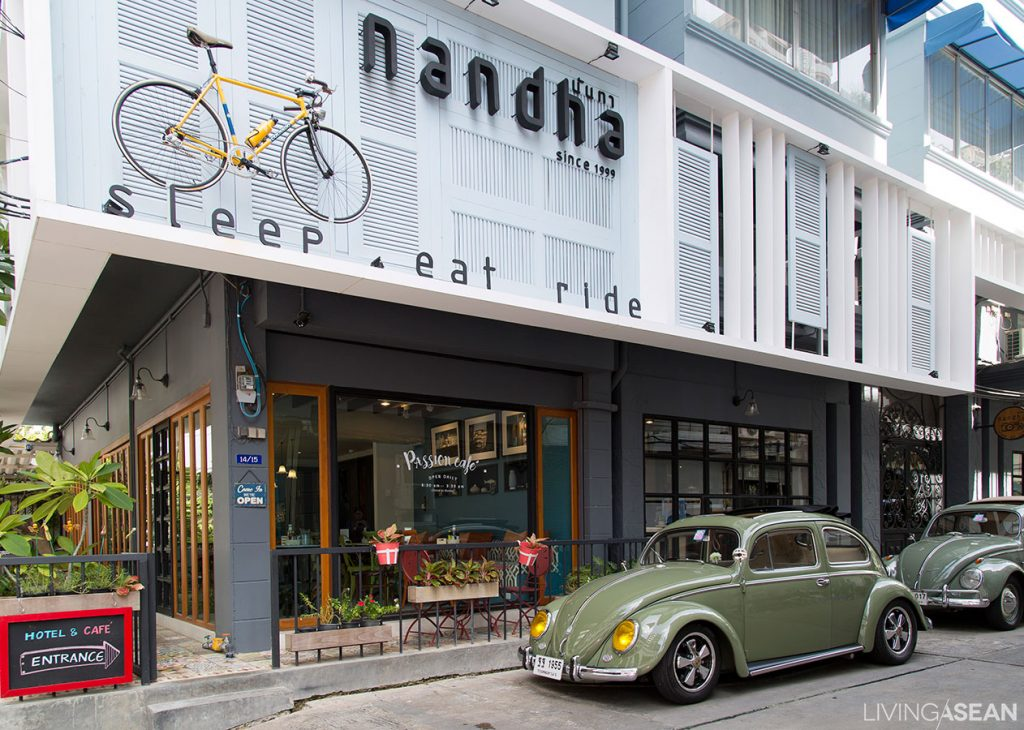 Nandha A Cycling Hotel Sleep Eat And Ride A Bicycle