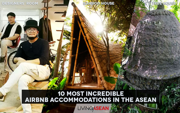 10 Most Incredible Airbnb Accommodations in the ASEAN