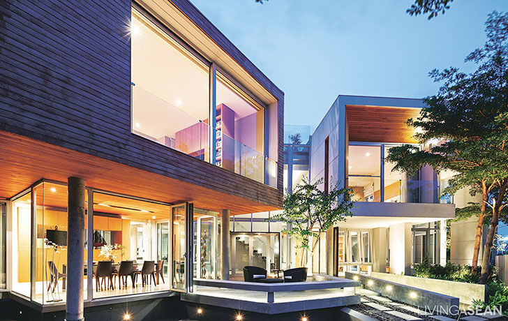 From Traditional Concept to Modern Contemporary House