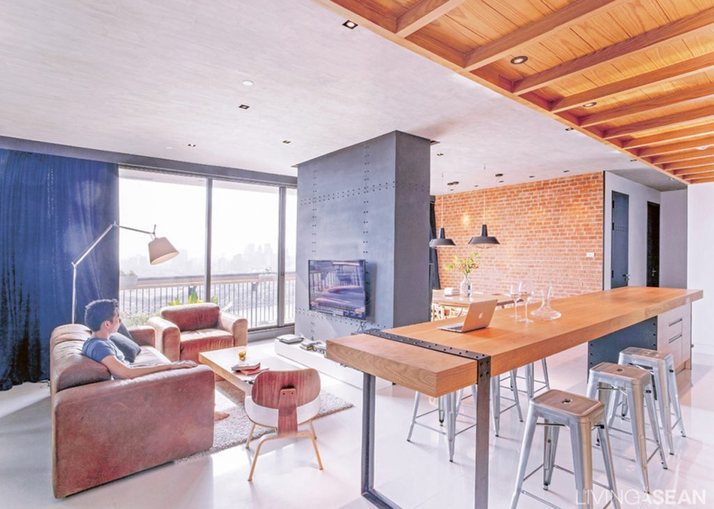 The Living Room Is An Open Space That Connects To Everything Else Result