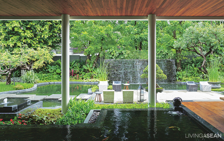 Picture Perfect Home In A Rainforest Garden Living Asean