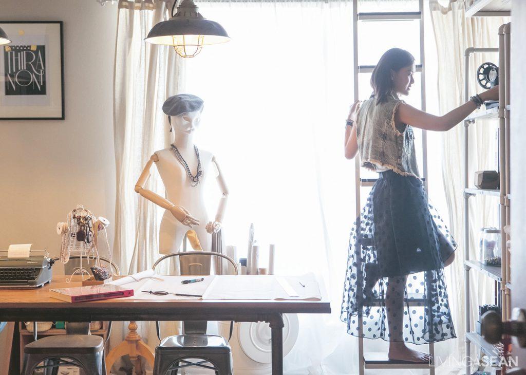 Tiny Home Studio Of Fashion Designer Living Asean