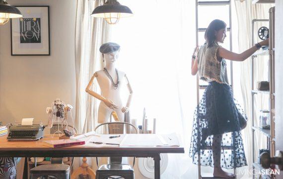 Tiny Home Studio of Fashion Designer