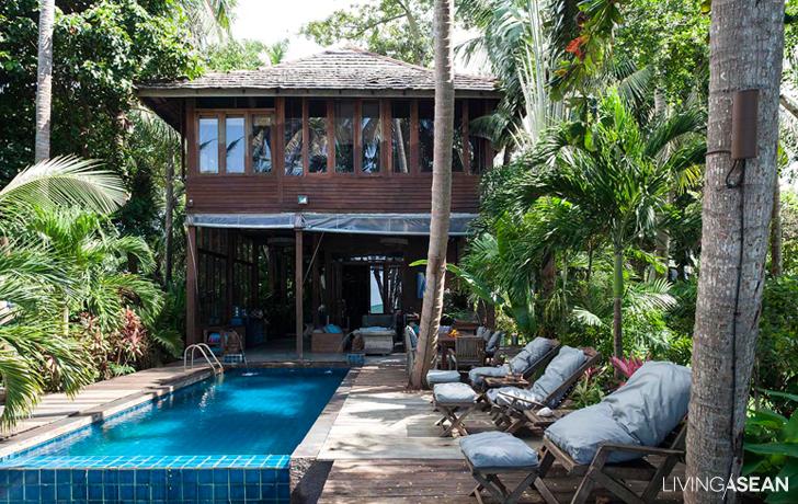 Beach House on a Paradise Island