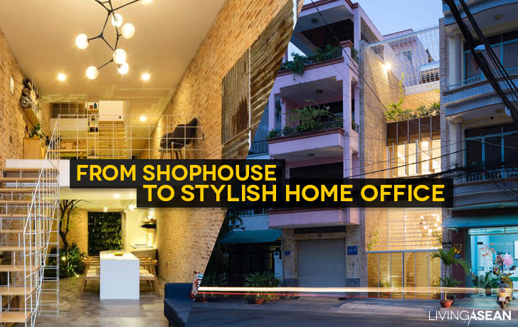 From Shophouse to Stylish Home Office