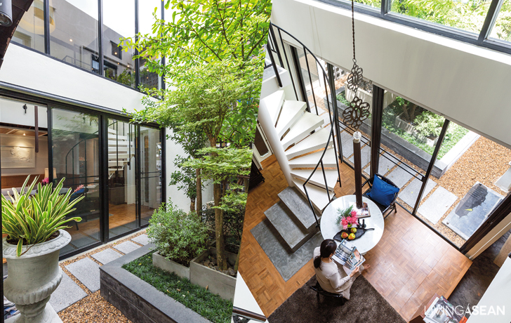 Concrete House with an Enchanting Surprise