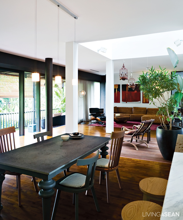 Contemporary Tropical House Tanga House: Modern Tropical House Makes Simple Living Stylish