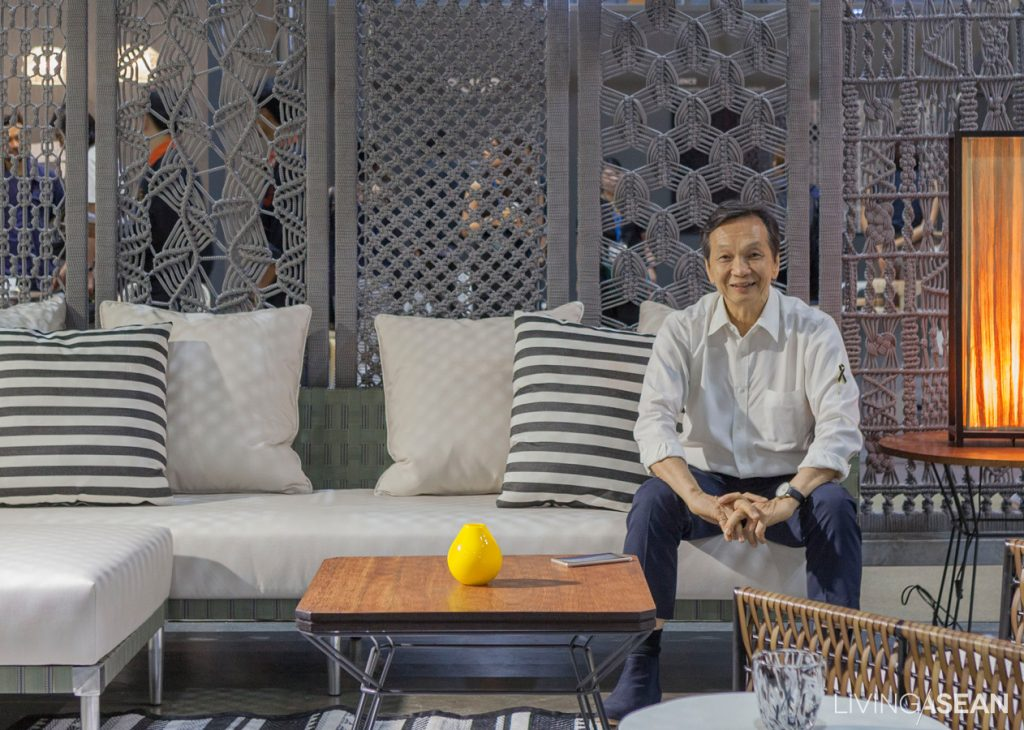 """Customers prefer our products because they not only give their homes a refreshing change, but also make good conversation starters."" - Suwan Kongkhunthian, designer at Yothaka"