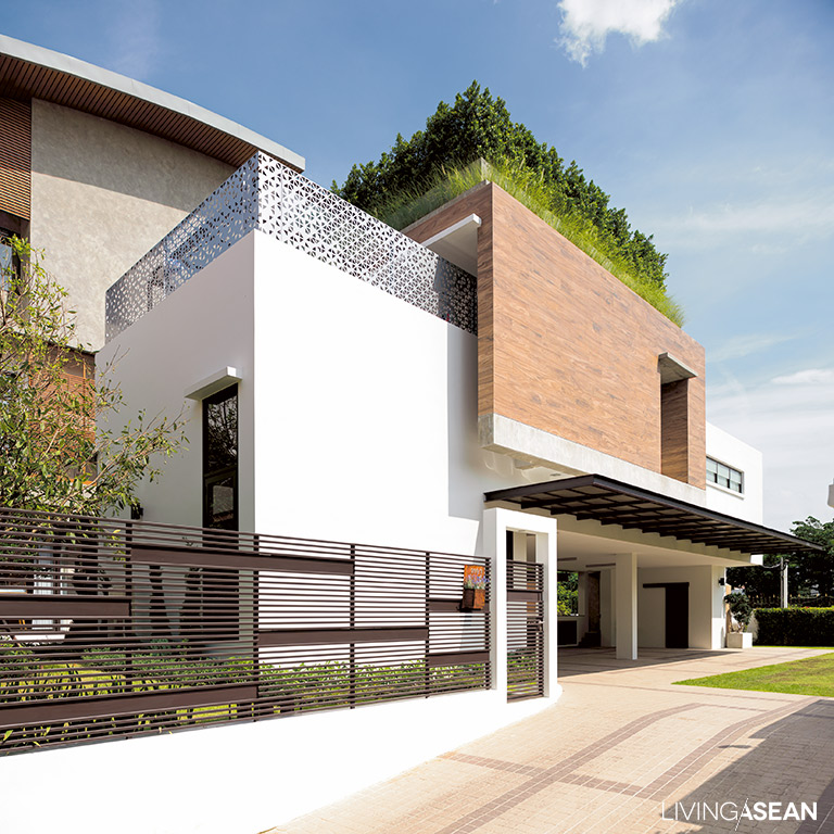Modern Thai House Utilizing the good qualities of the