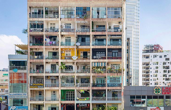 The Café Apartment, a Super-hip Building in Ho Chi Minh City