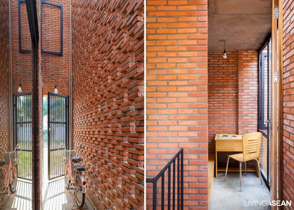 Brick House for a Tropical Climate. /// Living Asean ///
