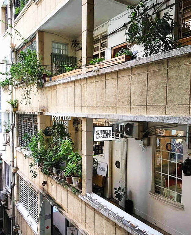 We Re Referring To The Coolest Imaginable Conversion Of This 9 Y Former Apartment Building Into A Fantastic Collection Restaurants Coffee S