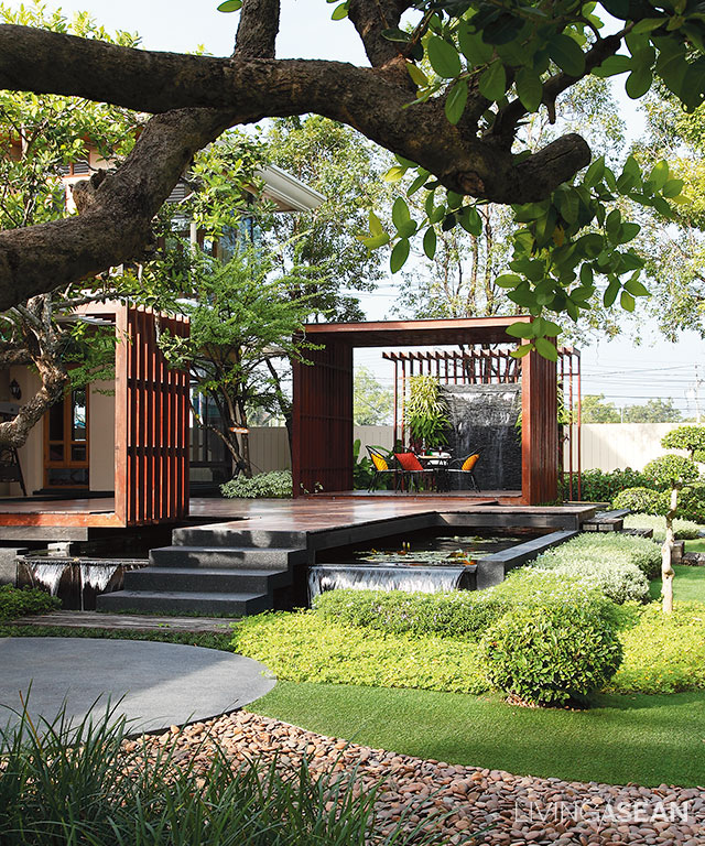 Tropical Home Garden Design Ideas: 10 Patio Designs For Tropical Climates. /// Living Asean