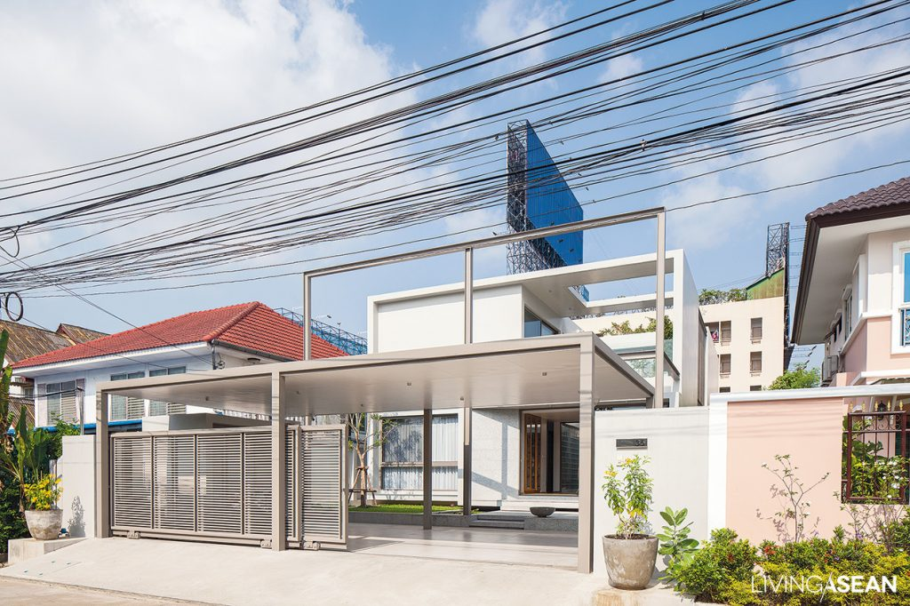 Minimal Style Boxlike House In Thailand Living Asean