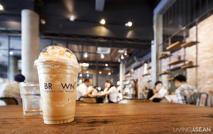 Brown a Top Café in Phnom Penh