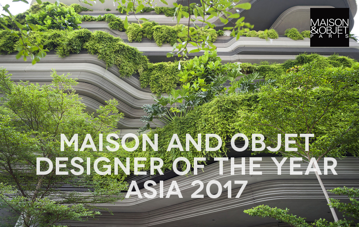 Singapore Group Is Maison & Objet Designer of the Year Asia 2017 / Five Asia-Pacific Rising Talents Shine in Paris
