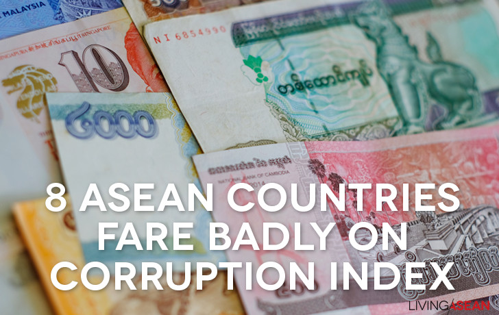 8 ASEAN Countries Fare Badly on Corruption Index