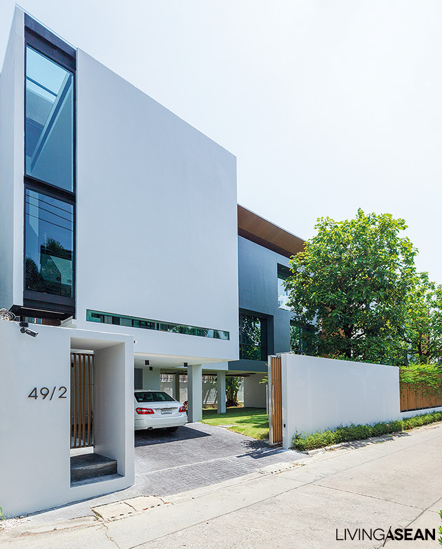 Twin Houses Modern Thai Style Living Asean