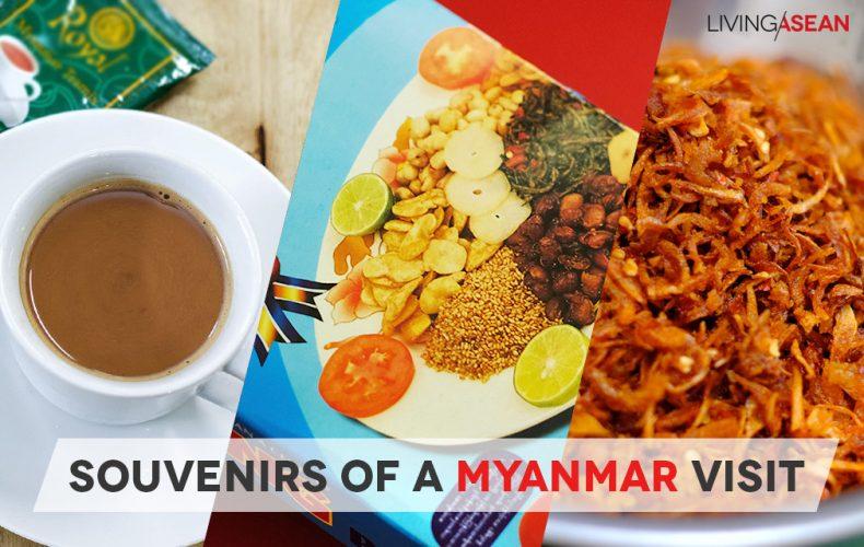Souvenirs of a Myanmar Visit