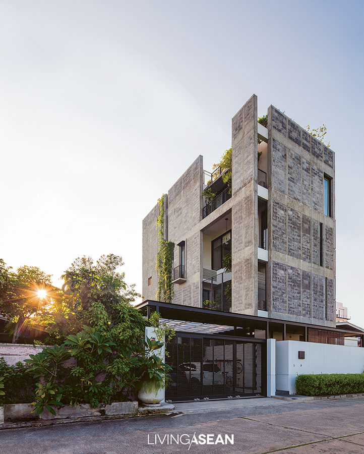 Concrete Block House