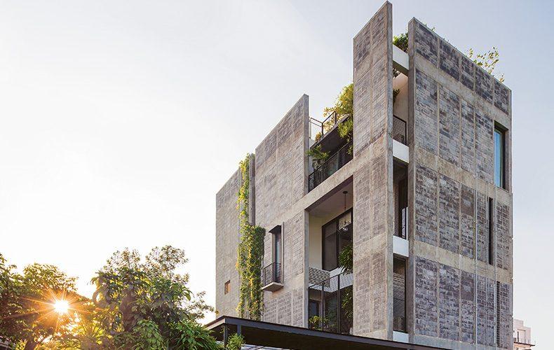 Concrete Block House