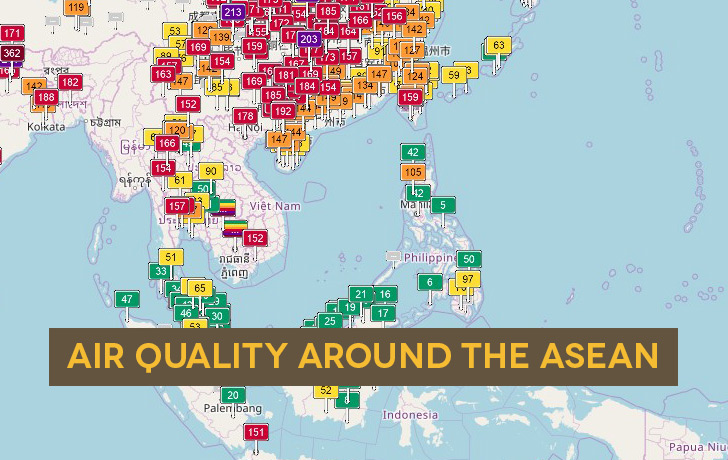 Air Quality around the ASEAN