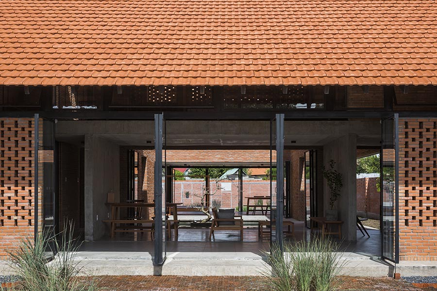 Vietnam Traditional Brick House