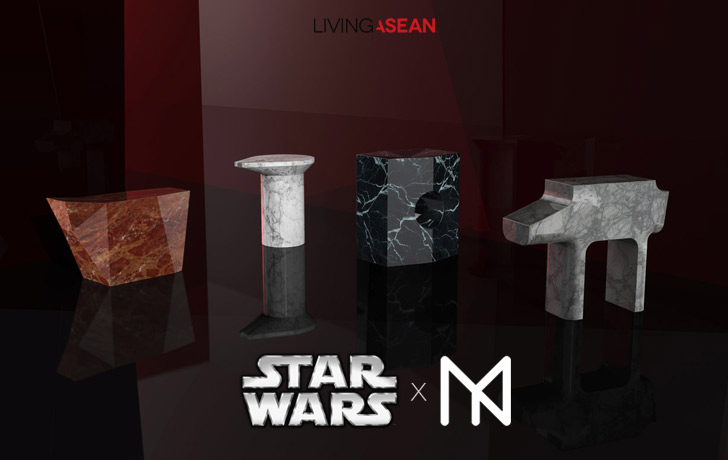 Star Wars X Nathan Yong: From Star Wars to Home Decor Articles