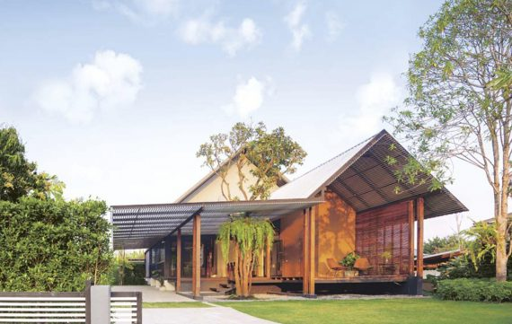 Modern House amid a Country Atmosphere