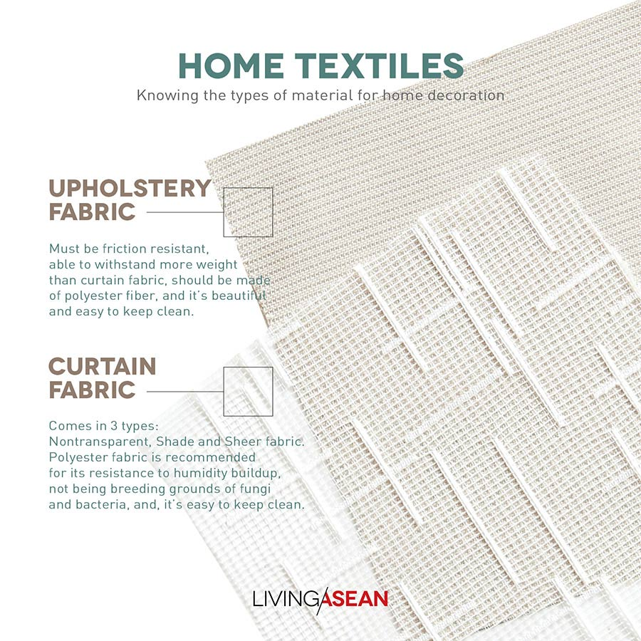 Fabric Is One Of The Most Por Materials Used In Home Decoration It S Preferred For An Enormous Richness Sizes Colors And Types Textiles As
