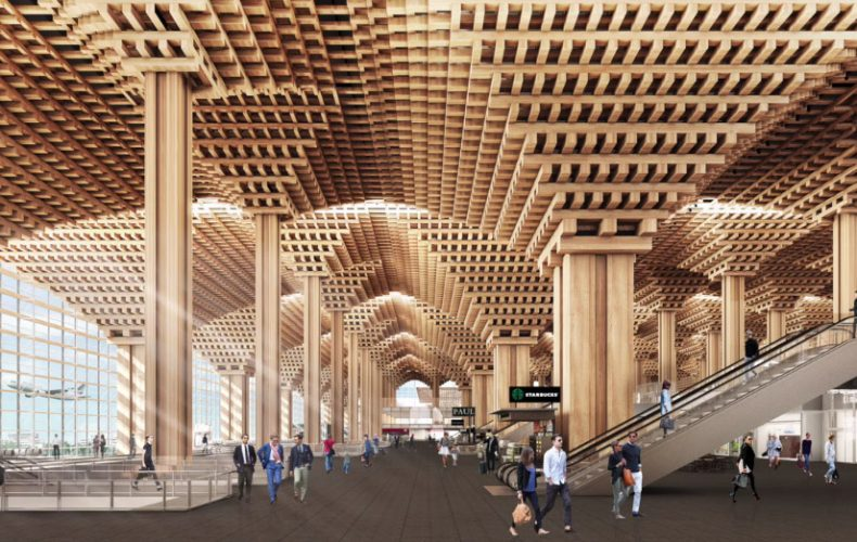 Duangrit Bunnag Group Wins Suvarnabhumi Airport Terminal 2 Project Design Contest