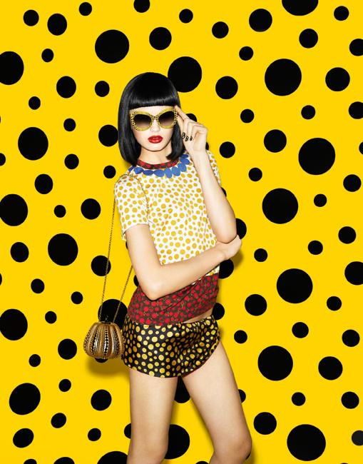 Louis Vuitton - Yayoi Kusama Collection | Photo courtesy of Louis Vuitton